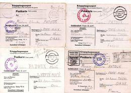 6X Kriegsgefangenenpost Prisonnier De Guerre 1939/45 STALAG VII A MOOSBURG + Censures Voir Scan PRIX FIXE 5 EUROS  !!! - Documents