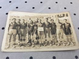 FREJUS ♥️. Carte Photo Équipe De Football   Année 30. Photographe. Siby - Frejus