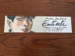 Marque Page Entracte André Juillard - Bookmarks