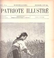 Bruxelles-Cortège Historique(1er Août 1897)-Char-Géants.7photos-Marconi Physicien Italien-Patriote Illustré Du 8/8/1897 - Cultuur