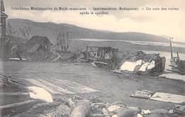EVENEMENT Event ( Catastrophe ) MADAGASCAR - IMERIMANDROSO Un Coin Des Ruines Après Le CYCLONE - CPA - - Rampen