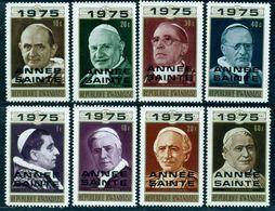 Rwanda 1975 Holy Year,Pope, Pius, Leon, Paul, Catholic Church, Religion, MNH - Päpste