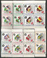 2x YEMEN - MNH - Sport - Soccer - World Cup 1970 - 1970 – Mexique