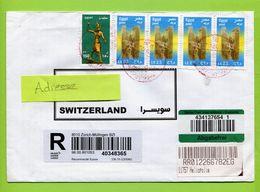 Ägypten    1920  To Switzerland - Brieven En Documenten