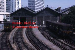 ReproductionPhotographie De Trains Gare De Javel SNCF à Paris En 1966 - Reproductions