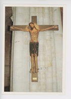 Saint Martin De Boscherville, Abbaye Saint Georges : Christ Roman XIIè, Sculpteur Morel, Atelier Legrand (cp Vierge) - Saint-Martin-de-Boscherville