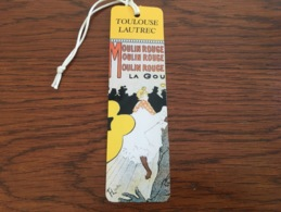 Marque Page Moulin Rouge Toulouse Lautrec - Bookmarks