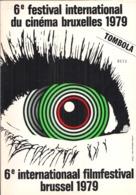6e FESTIVAL INTERNATIONAL DU CINÉMA BRUXELLES 1979 - 6e INTERNATIONAAL FILMFESTIVAL BRUXELLES 1979. - Cinema