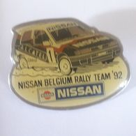PINS  NISSAN BELGIUM RALLY TEAM 95 - Rallye