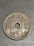 Luxembourg Jeton, Werth-Marke MVM 20 Pfennig - Andere