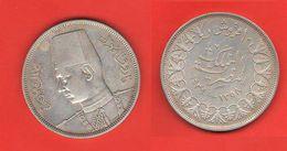 Egitto Egypte 10 Piastres 1939 AH 1358 Egypt Farouk I° - Egypt