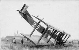 Carte Photo - Aviation - CHARTRES - Accident D'avion - Accidents