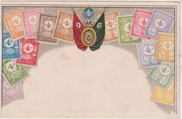 Carte Gaufrée - Timbres De Turquie - Postzegels (afbeeldingen)
