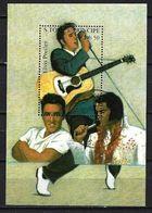 Célébrités Saint Thomas Et Prince 1994 (41) Bloc Yvert N° 153 Oblitérés Used - Elvis Presley