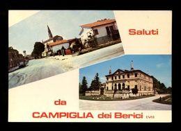 C3737 SALUTI DA CAMPIGLIA DEI BERICI (VICENZA) VG - FOTO GHEDINA CORTINA - Italia