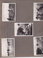 10 Photographies Argentique[29] Finistère  Morgat  Camaret Vues Différentes Sur Page D'album Ref 200663 - Morgat