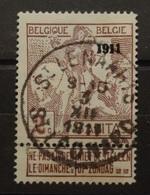 COB 94 Oblitération Rare Concours St Léonard - 1910-1911 Caritas