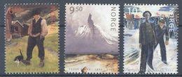 Norway 2004, Paintings, MNH Stamps Set - Norwegen