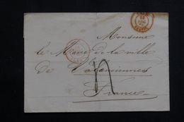BELGIQUE - Lettre De L'Administration Communale De Mons Pour Le Maire De Valenciennes En 1850  - L 62261 - Other