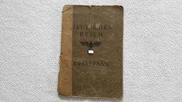 Deutsches Reich Reisepass 1939 Breslau  Ausweis Paß - Documents