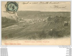 54 SAULNES. Les Usines 1905. Pli Coin Gauche - Otros Municipios