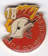 Pin's Pompiers SP Pourrières - Firemen