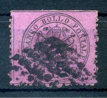 1868 STATO PONTIFICIO 3° Em. 20 Cent USATO N.28 - Papal States