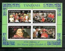TANZANIE CELEBRITES 1987 (4) N° Yvert Bloc 16 Neuf ** Luxe MNH - Tansania (1964-...)