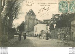 WW 24 SARLAT. Tour Du Bourreau Avec Animation 1906 - Sarlat La Caneda