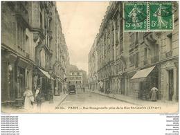 WW PARIS XV. Rue Beaugrenelle Prise De La Rue Saint-Charles 1912 - Arrondissement: 15