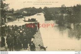 SL 41 BLOIS. Avenue De Saint-Gervais Inondée Pendant La Crue 1907 - Blois