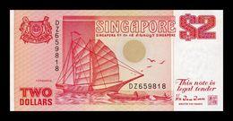 Singapur Singapore 2 Dollars 1990 Pick 27 SC UNC - Singapour