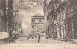 Salonique : L'incendie  ///   Juin   20 ///  Ref.  11.529 - Grèce