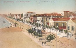 Salonique : Les Quais  ///   Juin   20 ///  Ref.  11.530 - Grèce