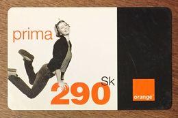 SLOVENIE ORANGE 290SK RECHARGE GSM EXP LE 30/06/2006 PREPAID CARTE PRÉPAYÉE PREPAID - Slovénie