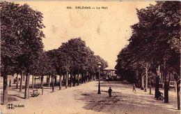 45 .. ORLEANS .. LE MAIL  .. KIOSQUE   1914  ... ( Le Trait Blanc Est Un Défaut Du Scann ) - Orleans
