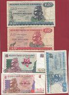 Zimbabwe 10 Billets Dans L 'état - Zimbabwe