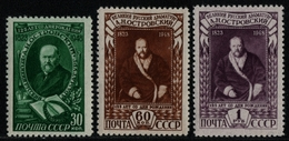 Russia / Sowjetunion 1948 - Mi-Nr. 1217-1219 ** - MNH - A. Ostrowskij (I) - 1923-1991 USSR
