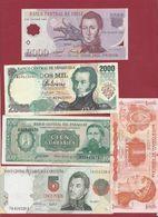 Autres-Amérique 11 Billets Dans L 'état (  Chili 2000 Pesos 2004 En UNC BONNE COTE) - Banknotes