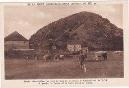 Ardèche : Le Mont GERBIER-de-JONCS : Gerbe Phonolithique : ( Animation - Enfant - Vaches Et Chien ) - Other Municipalities