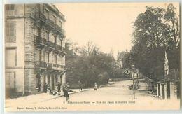 12968 - LUXEUIL LES BAINS - RUE DES BAINS ET MODERN HOTEL - Luxeuil Les Bains