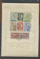 1940. Monarchie 800 ANS.   TB Bloc Oblitéré Pleine Gomme. Deux Coins Avec Pli. Cote 175-euros - Blocs-feuillets