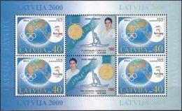 LETTLAND 2000 Mi-Nr. 534 Kleinbogen ** MNH - Latvia
