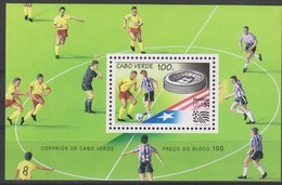 Soccer World Cup 1994 - Football - CABO VERDE - S/S MNH - Coupe Du Monde