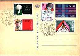 14994) U.N.1977, GENEVA -POSTAL CARD ,FDC - Autres
