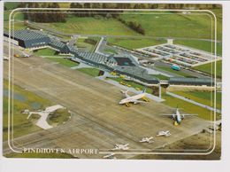 Rppc KLM. K.L.M. Royal Dutch Airlines Fokker F-27 & Britannia Boeing 737 Aircraft @ Einhoven Airport - 1946-....: Era Moderna