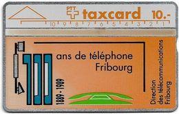 Switzerland - Swisscom (L&G) - V Cards - V-3? - FD Fribourg - NO Cn. - 06.1989, 10Fr, Dummy - Zwitserland