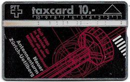 Switzerland - Swisscom (L&G) - V Cards - V-8A - Antennenturm Uetliberg - 010G - 10.1990, 10Fr, 5.000ex, Used - Zwitserland
