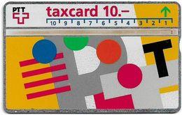 Switzerland - Swisscom (L&G) - V Cards - V-17B - Visuelle PTT - 207F - 07.1992, 10Fr, 45.000ex, Used - Zwitserland