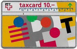 Switzerland - Swisscom (L&G) - V Cards - V-17B2 - Visuelle PTT - 302G - 02.1993, 10Fr, 11.550ex, Used - Zwitserland